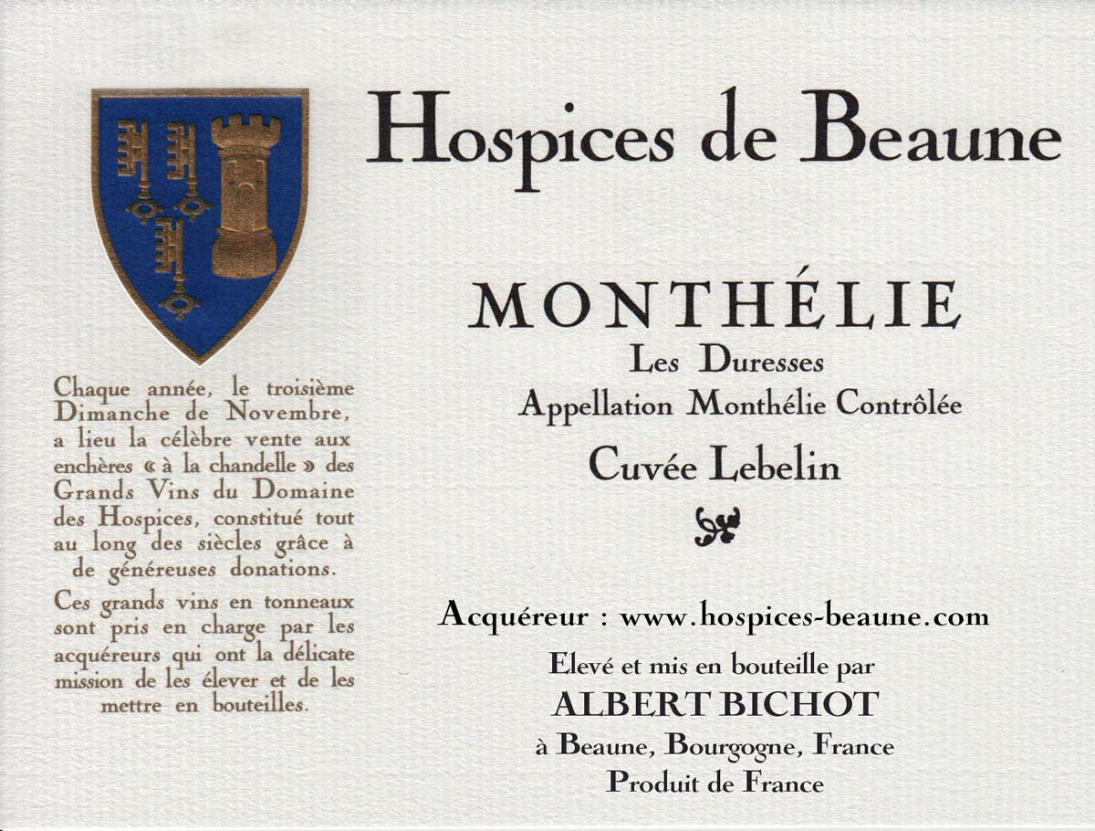 Encheres-auction-HospicesdeBeaune-AlbertBichot-Monthelie-Cuvee-Lebelin