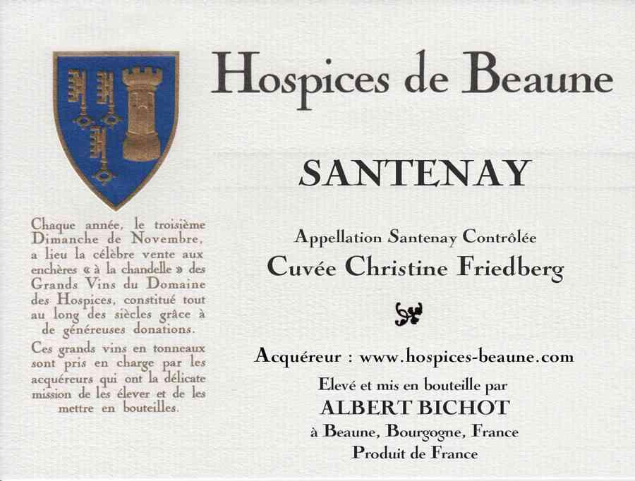 Encheres-auction-HospicesdeBeaune-AlbertBichot-SantenayPremierCru-ChristineFriedberg