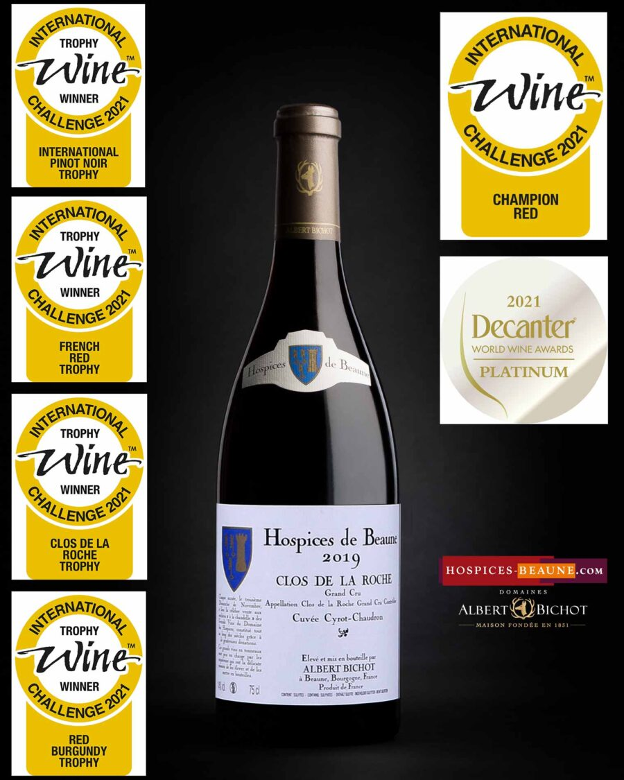 ClosRoche2019-hospices-beaune-albert-bichot-redchampion-IWC-platinum-decanter-world-wine-awards