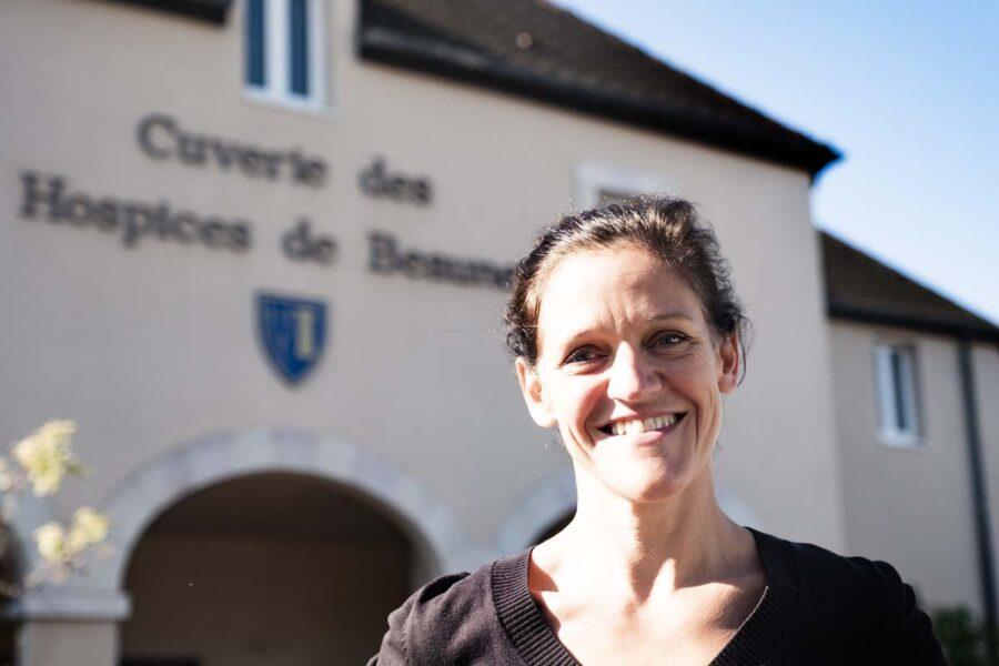 Ludivine Griveau, régisseur des Hospices de Beaune