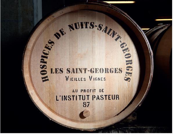 60ème vente aux enchères des Hospices de Nuits-Saint-Georges : la pièce des Présidents au profit de l'Institut Pasteur