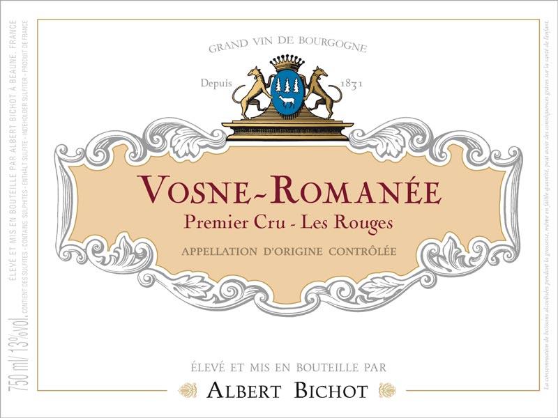 VosnePremierCru_LesRouges-AlbertBichot2019