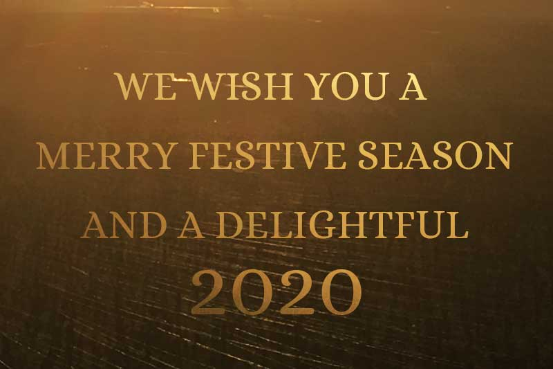We wish you a splendid Vintage 2020